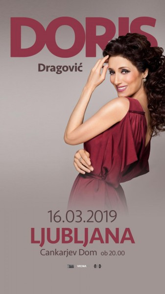 Tickets for Doris Dragović, 16.03.2019 on the 20:00 at Gallusova dvorana/ Gallus Hall