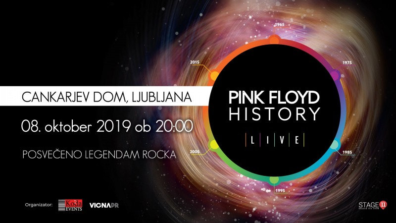 Tickets for PINK FLOYD HISTORY, posvečeno legendam rocka!, 08.10.2019 um 20:00 at Gallusova dvorana/ Gallus Hall