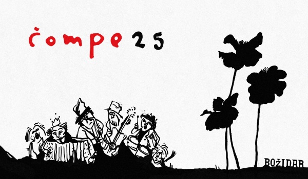 Tickets for Čompe - 25 let!, 23.02.2019 on the 20:00 at Bar Božidar, Ljubljana