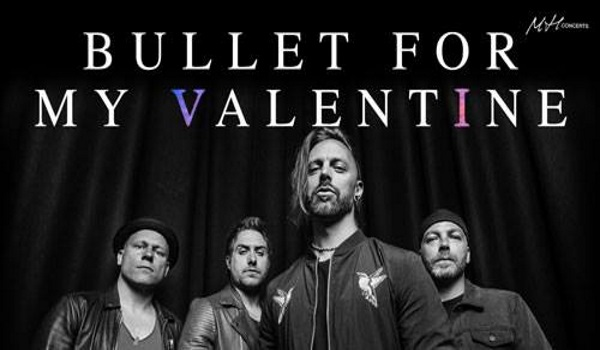 Tickets for BULLET FOR MY VALENTINE, 01.04.2019 um 20:00 at Kino Šiška