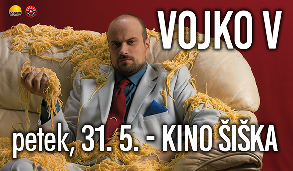 Tickets for VOJKO V, 31.05.2019 on the 20:00 at Kino Šiška