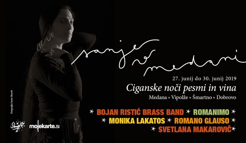 Tickets for Svetlana Makarovič * Bojan Ristić Brass Band * pesniško potovanje, 28.06.2019 on the 19:30 at Vila Vipolže, Brda