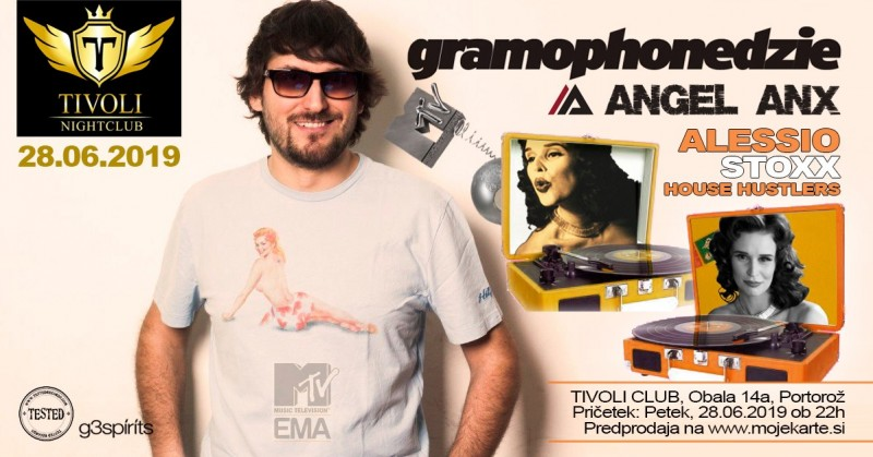Tickets for GRAMOPHONEDzIE, 28.06.2019 on the 22:00 at Club Tivoli, Portorož