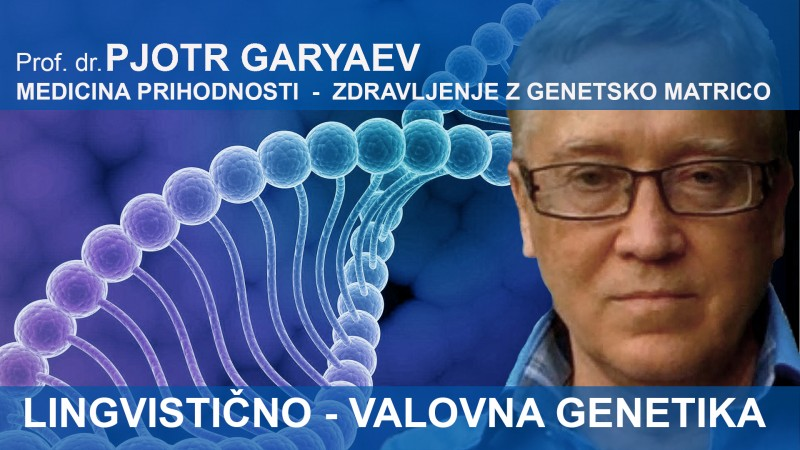Tickets for PREDAVANJE - Prof. dr. PJOTR P.GARYAEV, 19.10.2019 on the 10:00 at Kongresna dvorana Smelt