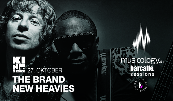 Tickets for Musicology Barcaffe Sessions: THE BRAND NEW HEAVIES, 27.10.2019 on the 20:00 at Kino Šiška, Ljubljana