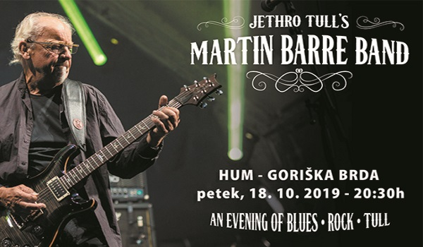 Tickets for Koncert skupine Martin Barre Band, 18.10.2019 on the 20:30 at Dvorana Hum, Kojsko