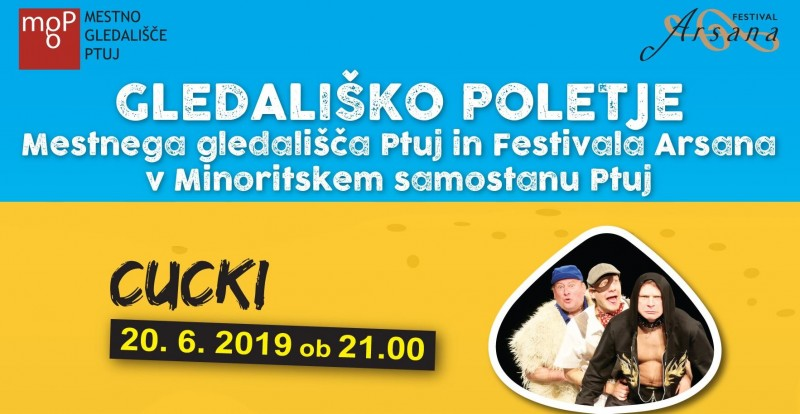 Tickets for Cucki, 20.06.2019 um 21:00 at Minoritski samostan Ptuj