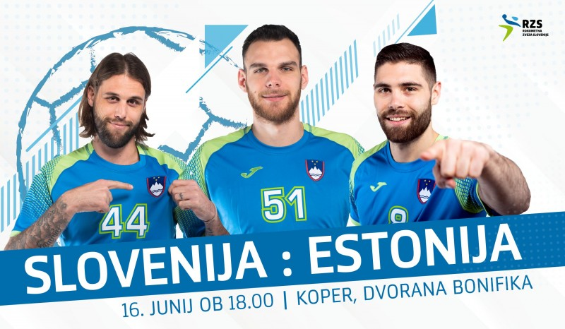 Tickets for SLOVENIJA : ESTONIJA, 16.06.2019 on the 18:00 at Arena Bonifika Koper