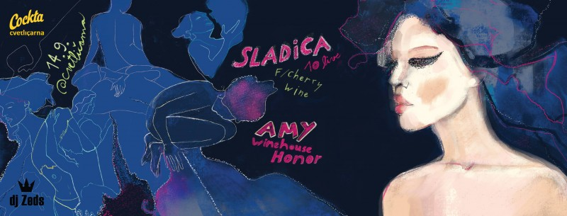 Sladica 10 Live f/ Cherry Wine - Amy Winehouse Honor