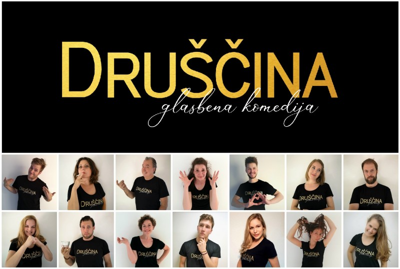 Tickets for DRUŠČINA, 20.10.2019 on the 20:00 at Kulturni dom Radomlje (Prešernova cesta 43, Radomlje)