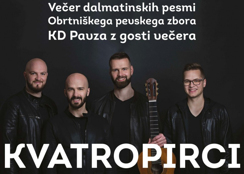Tickets for VEČER DALMATINSKIH PESMI, 21.09.2019 on the 20:00 at Hram kulture Arnolda Tovornika