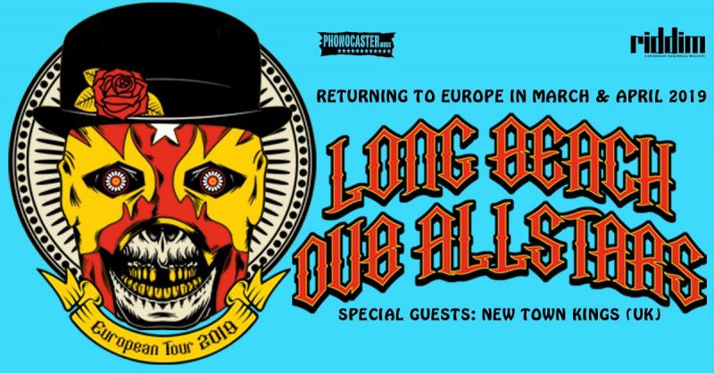 Tickets for LONG BEACH DUB ALLSTARS, 01.04.2019 on the 20:00 at Gala Hala, Metelkova (Ljubljana)
