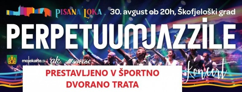 Tickets for PERPETUUM JAZZILE - Prestavljeno v dvorano Trata v Škofji Loki!, 30.08.2019 on the 20:00 at Dvorana Trata, Škofja Loka