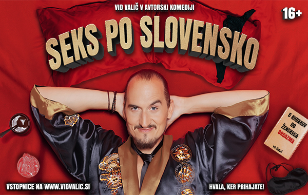 Tickets for VID VALIČ: Seks po slovensko, 01.12.2019 um 19:00 at KPC (Kulturni poslovni center) MAJŠPERK