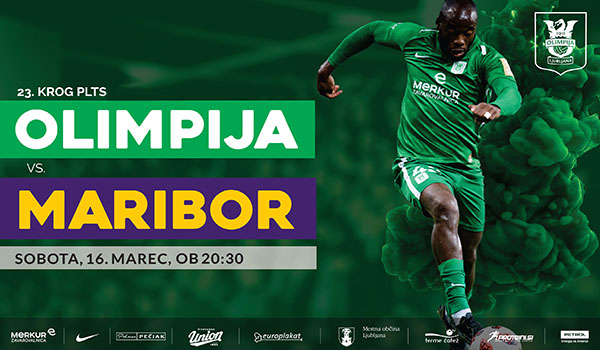 Tickets for NK Olimpija Ljubljana : NK Maribor, 16.03.2019 on the 20:30 at Stadion Stožice