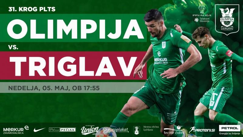 Vstopnice za NK Olimpija Ljubljana : NK Triglav Kranj, 05 05