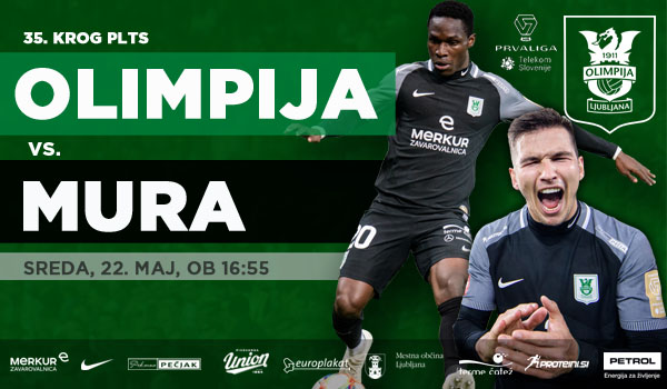 Tickets for NK Olimpija Ljubljana : NŠ Mura, 22.05.2019 on the 16:55 at Stadion Stožice