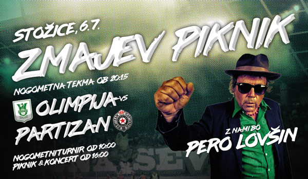 Tickets for Zmajev piknik, 06.07.2019 on the 16:00 at Stadion Stožice