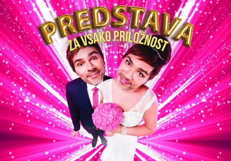 Tickets for Predstava za vsako priložnost, 06.05.2019 on the 20:00 at SiTi Teater BTC